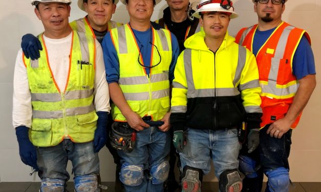 Members at Dellamaggiore Jobsite