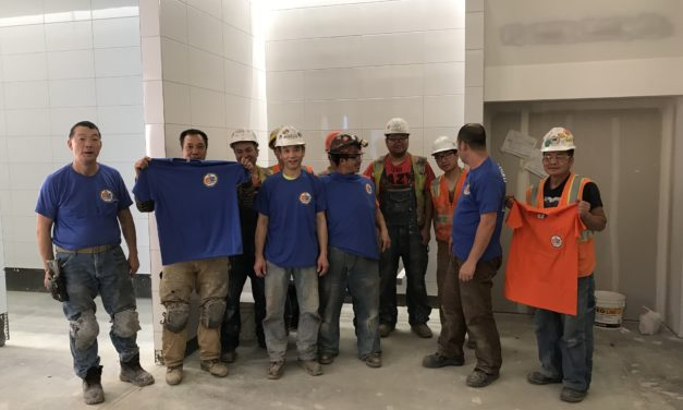 Members at KZ Tile Jobsite