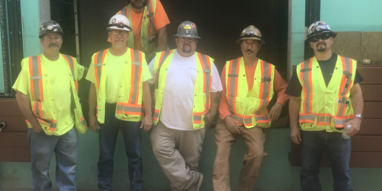 Cleveland Marble job in Hayward