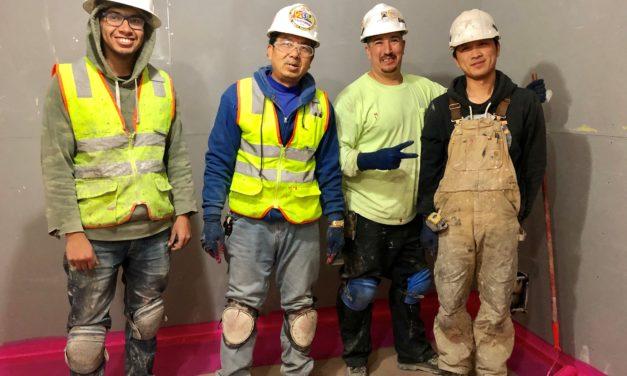 Members at Della Maggiore Jobsite